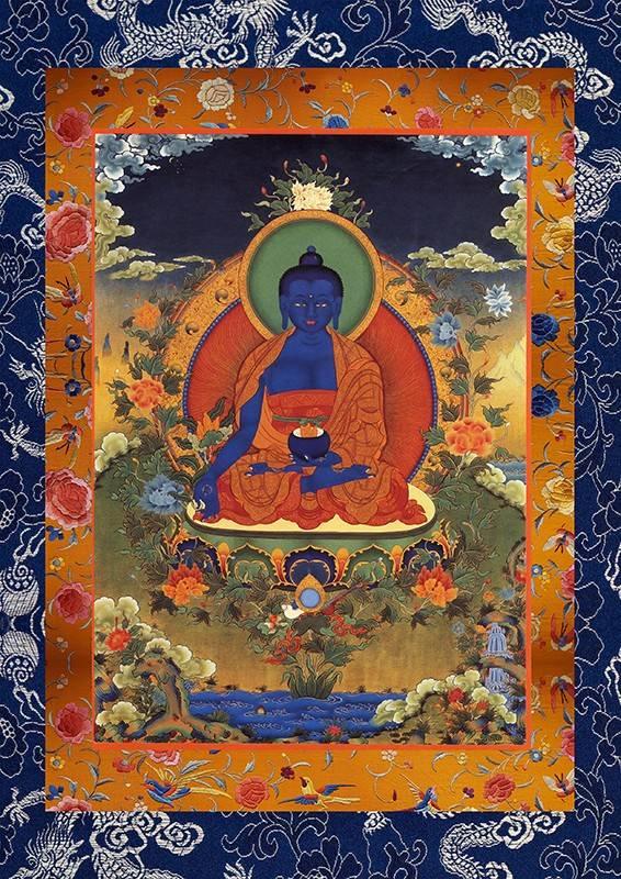 Будда медицины - одно из воплощений просветленного