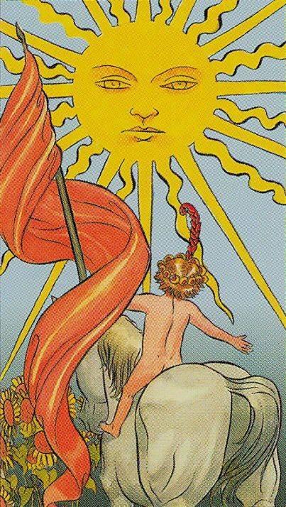 Карта таро солнце — значение 19 аркана в раскладах; сочетание с другими картами колоды
