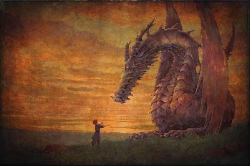 Легендарный змей горыныч из сказок и мифов