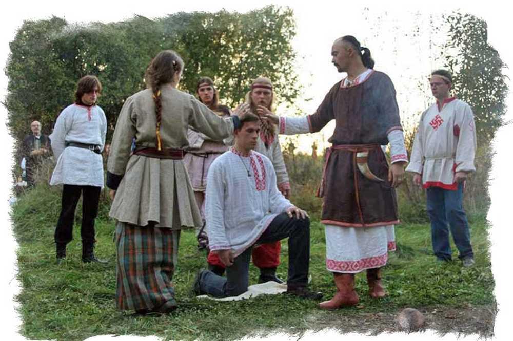 Обряд раскрещивания у славян