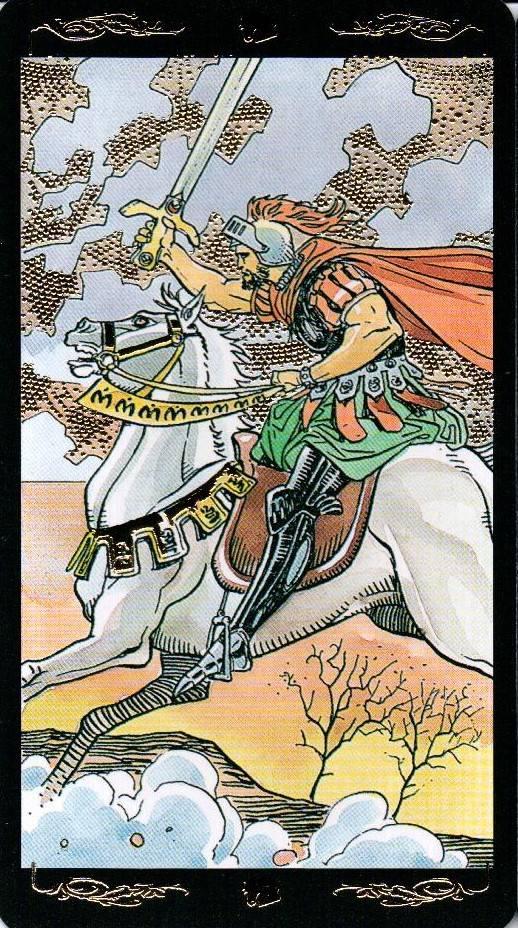 Рыцарь Мечей: значение карты Таро