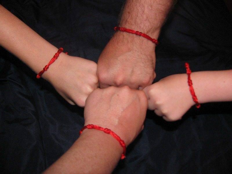 Красная нить на запястье: как носить и завязывать, своими руками