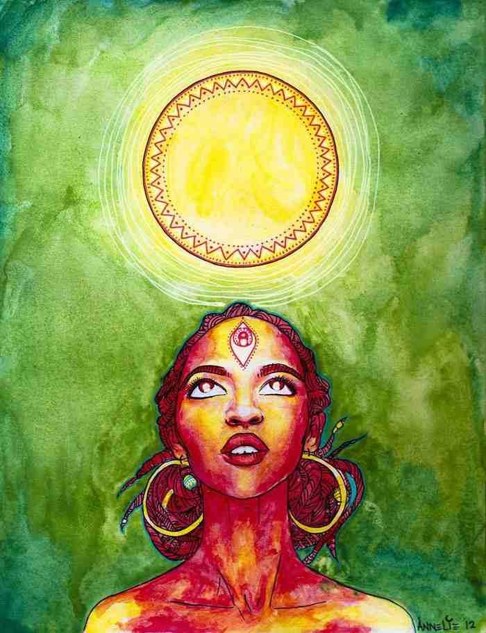 Медитация для открытия третьего глаза