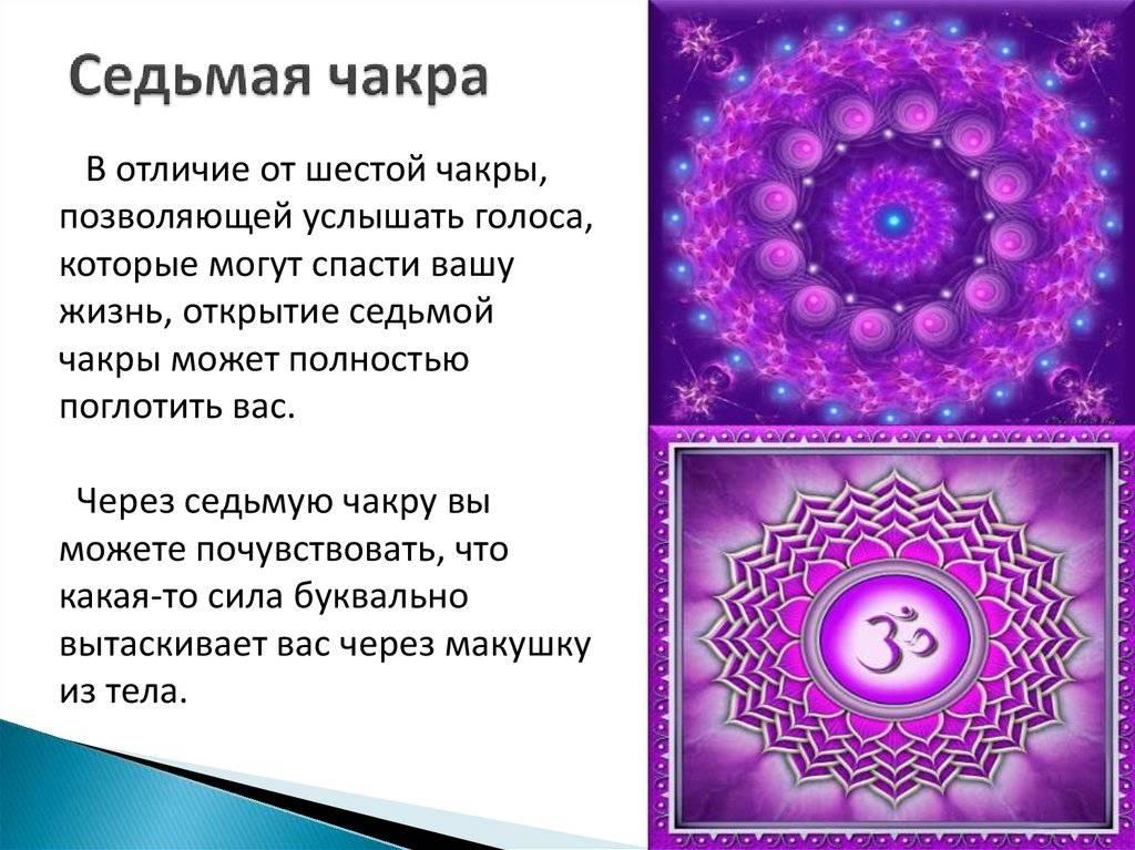 7 чакра— сахасрара (высший энергетический центр)