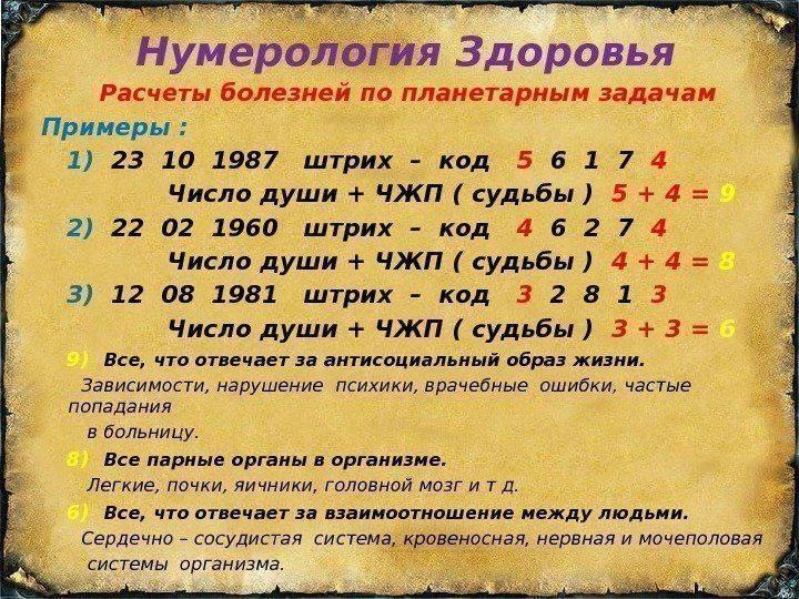 Ведическая нумерология и ее особенности | характеристика чисел
