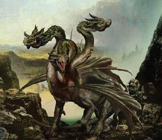Змей горыныч о трех головах в славянской мифологии