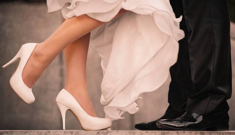Новая обувь на ногах