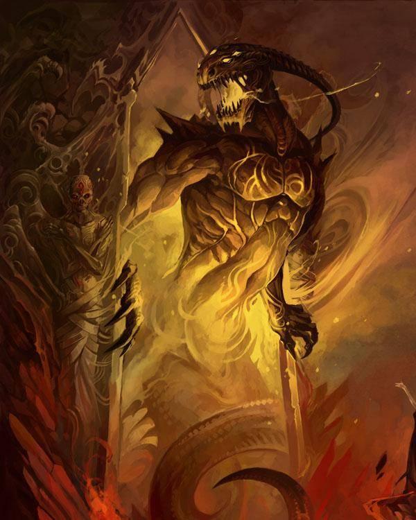 Абаддон   аваддон   повелитель бездны   адский полководец   демон ада   paranormal-zone