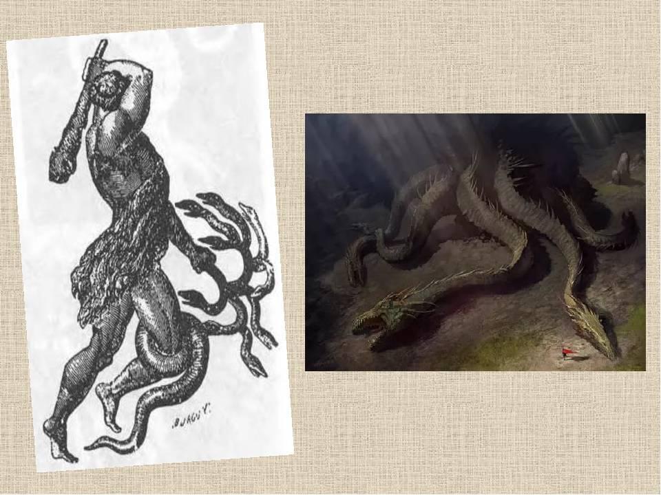 Лернейская гидра – обязательный персонаж сказаний о подвигах геракла