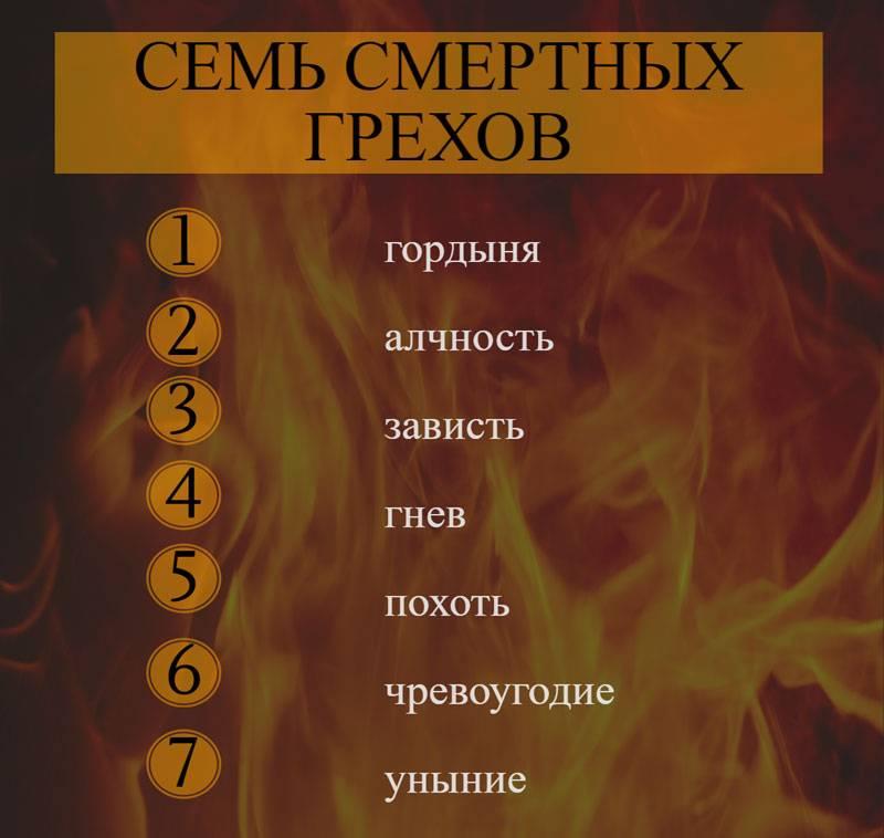 Десять заповедей божьих в православии