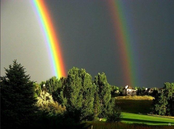 Двойная радуга: приметы, к чему увидеть, что обозначает ее появление | твойдень