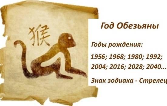 1992 — год водяной обезьяны: характер мужчин и женщин по восточному календарю