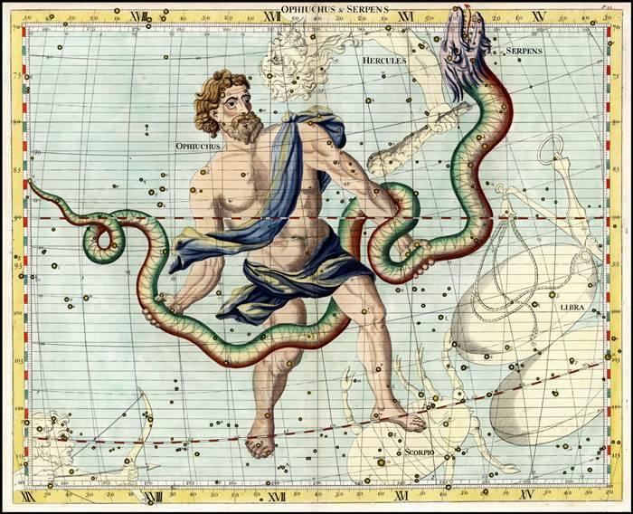 Змееносец: даты рождения, характеристика 13 знака зодиака