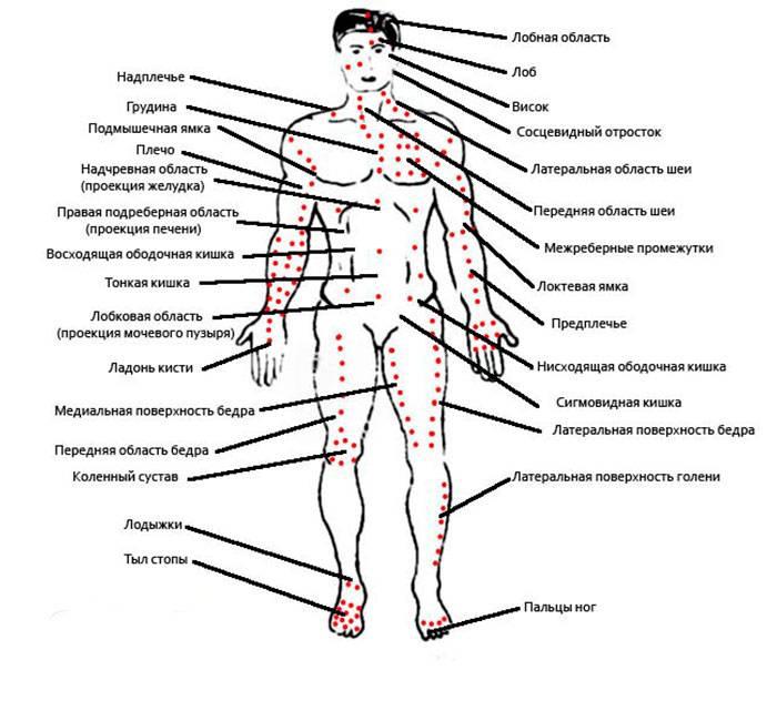 Болевые точки на теле человека: куда нажать, куда бить