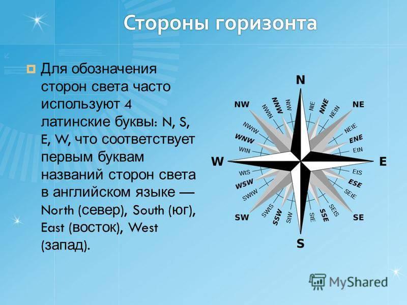 С какой стороны запад на карте. как определить стороны света с какой стороны запад на карте. как определить стороны света