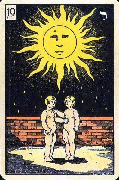 Солнце таро значение личность