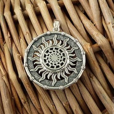 Черное солнце – значение славянского символа-оберега, использование амулета