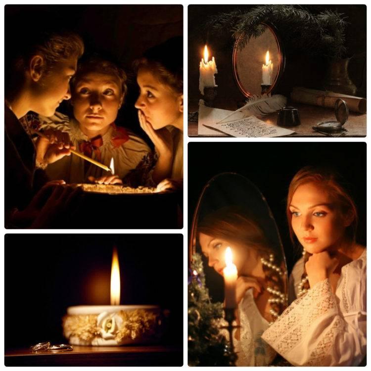 Гадания на рождество и святки, святочные недели для гадания. гадания на суженого