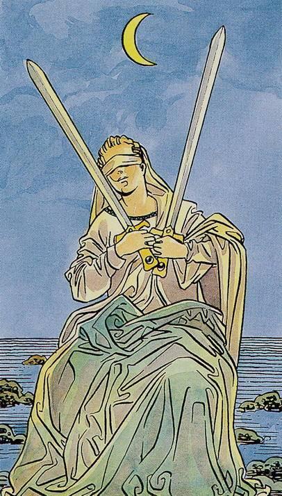 2 (двойка) мечей: значение в раскладах таро и варианты сочетаний