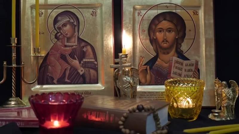 Вечерние молитвы: читать вечернее правило молитвы