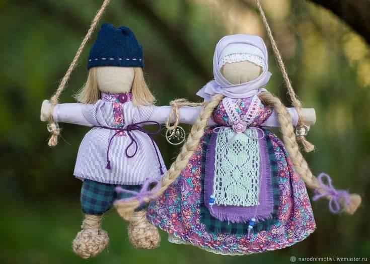 Кукла оберег неразлучники: выполнение своими руками