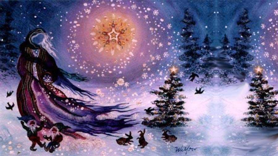 Ритуалы на йоль (день зимнего солнцестояния)