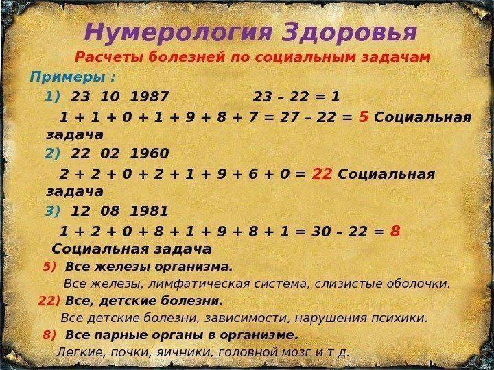 Как найти предмет нумерология