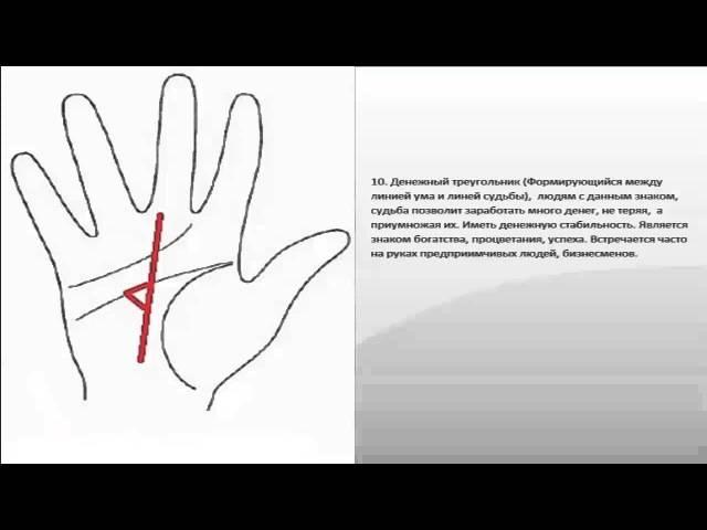 Линия богатства на руке: расположение и подробная расшифровка