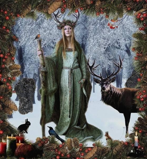 C 21 декабря начинаем праздновать йоль. история, обряды и ритуалы