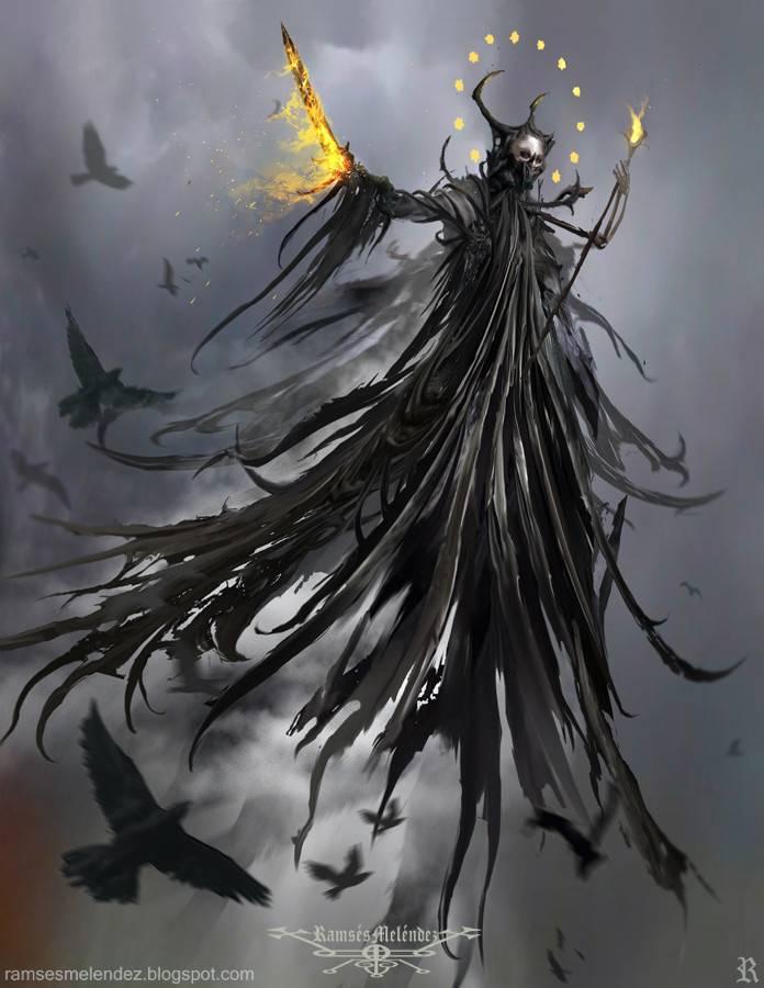 Демон абаддон – тот, кто сеет хаос (5 фото)
