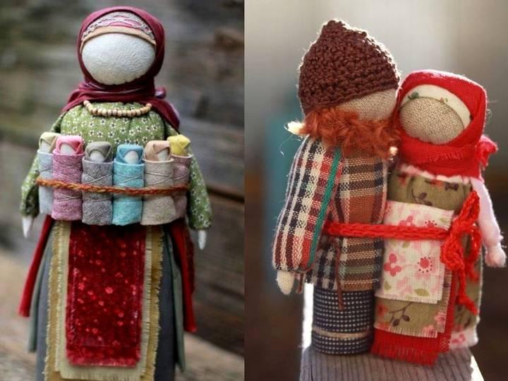 Кукла-оберег неразлучники: значение, мастер-класс по изготовлению