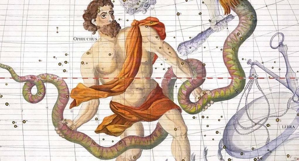 Знак верхнего зодиака змееносец. 21-23 ноября