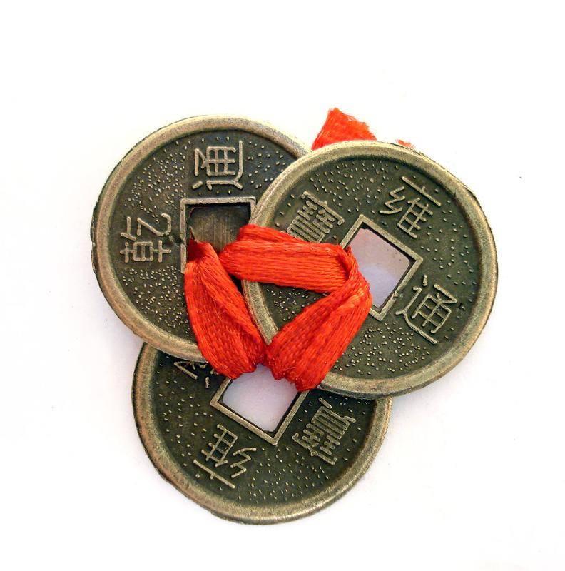 Китайские денежные монетки фэн шуй