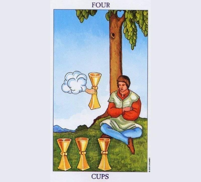 3 (тройка) кубков в таро: значение и сочетание карты