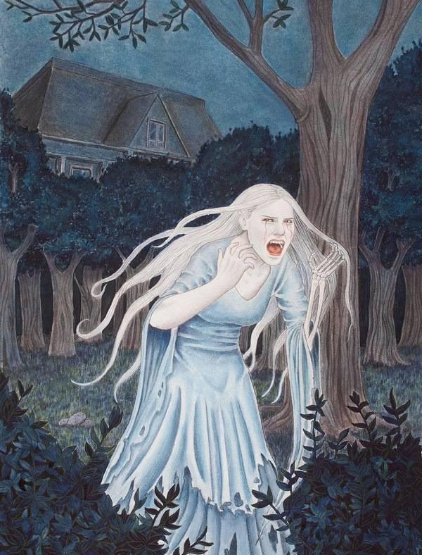 История о призраке белой дамы из королевских замков