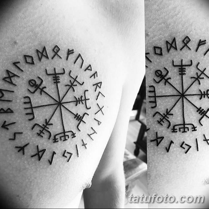 Какими бывают тату в виде рун и что они означают?