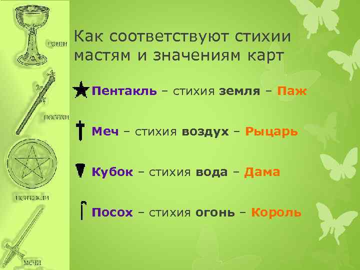 Значение масти таро пентакли (монеты, диски)