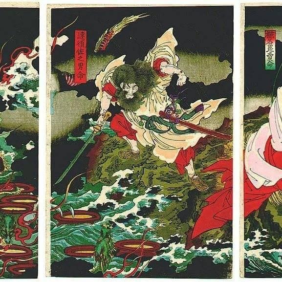 Японский дракон - вики