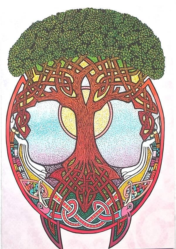Оберег древо жизни: значение и описание