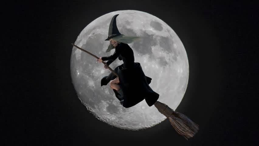 Ведьма метла