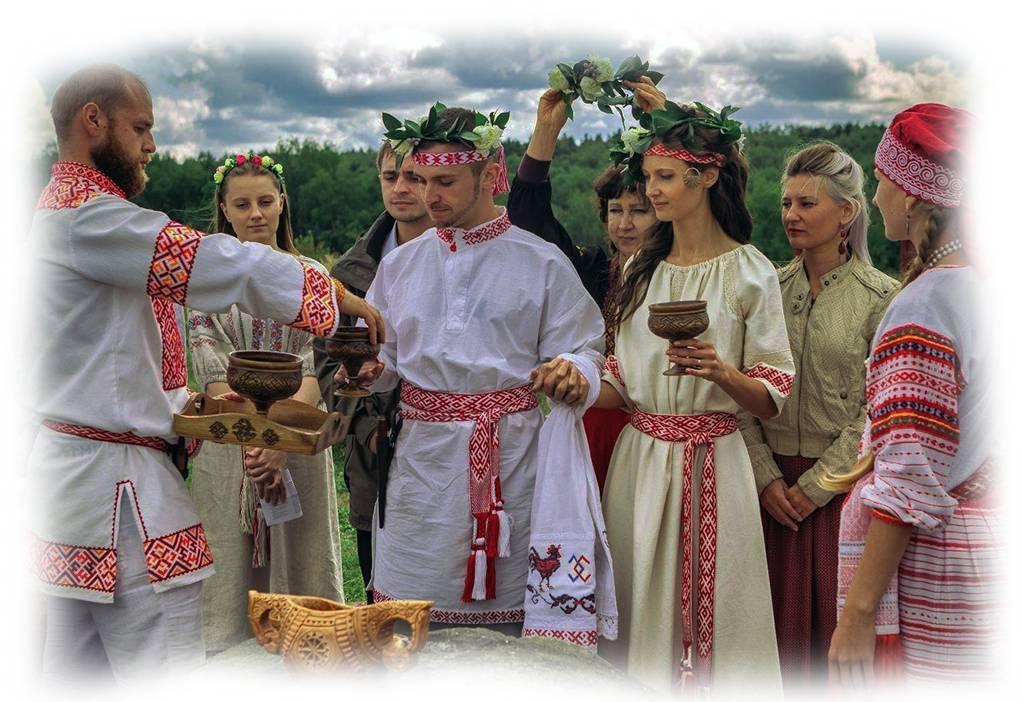 Самые шокирующие ритуалы в славянском язычестве   русская семерка