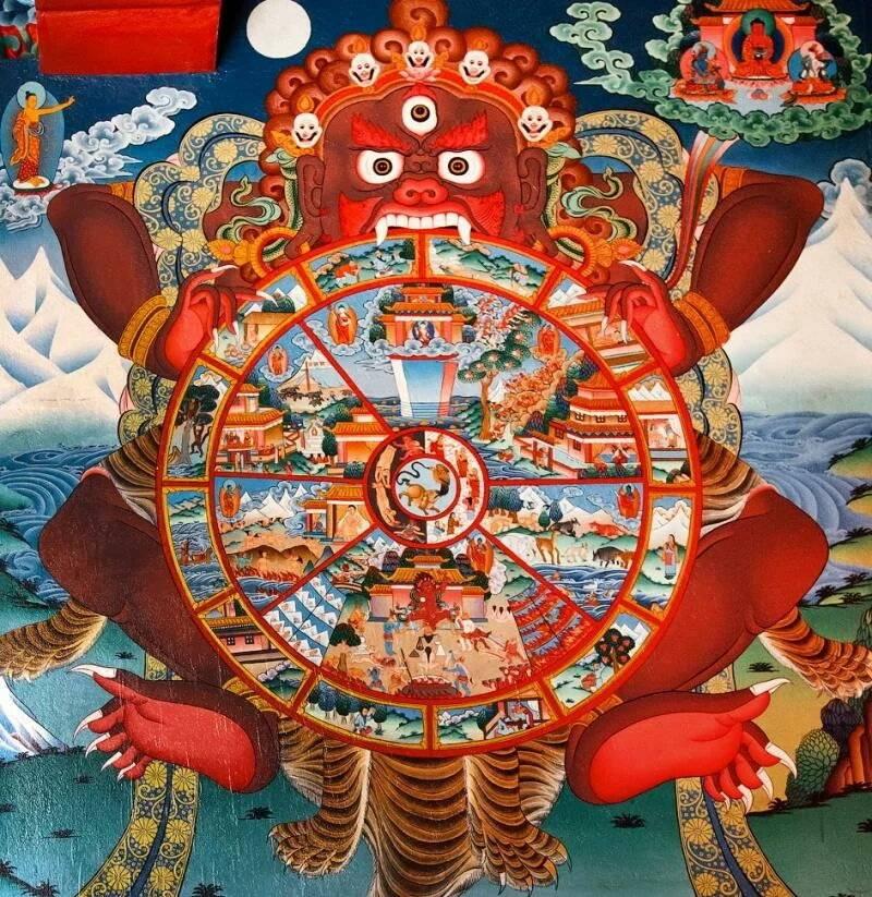 Сансара — что такое колесо сансары? как его покинуть?