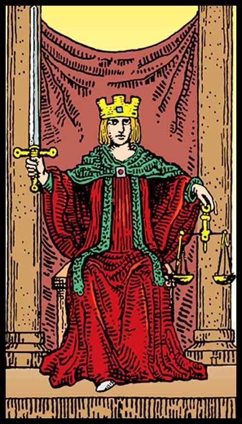Старший аркан таро 8 справедливость (правосудие): значение карты в раскладах и сочетаниях, перевернутый аркан
