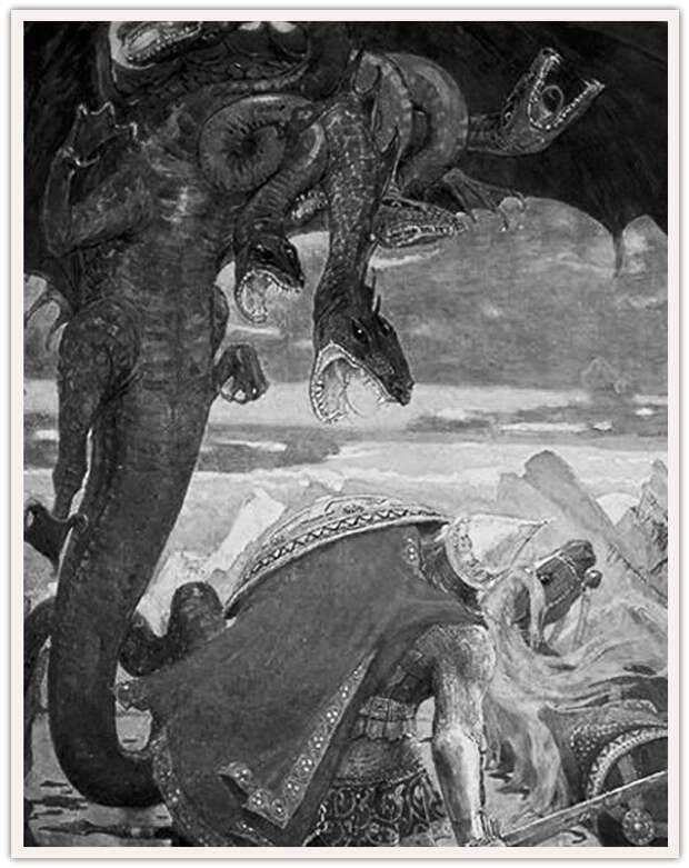 Змей горыныч - где живет и как выглядит?