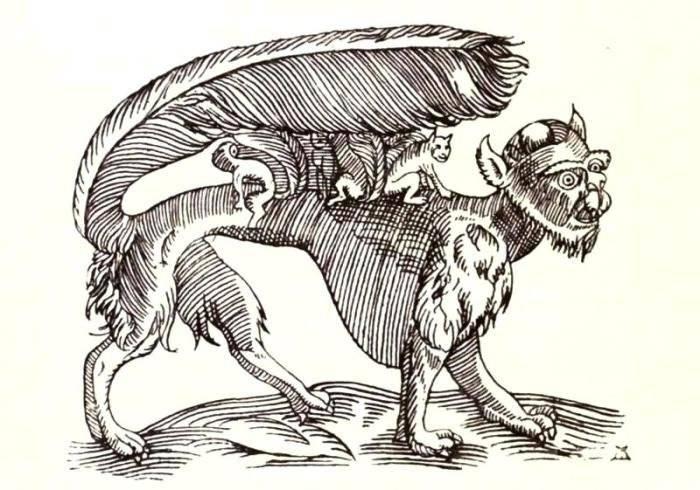 Мантикора (чудовище) - вики
