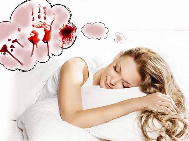 К чему снится кровь во сне для женщины: месячные у себя