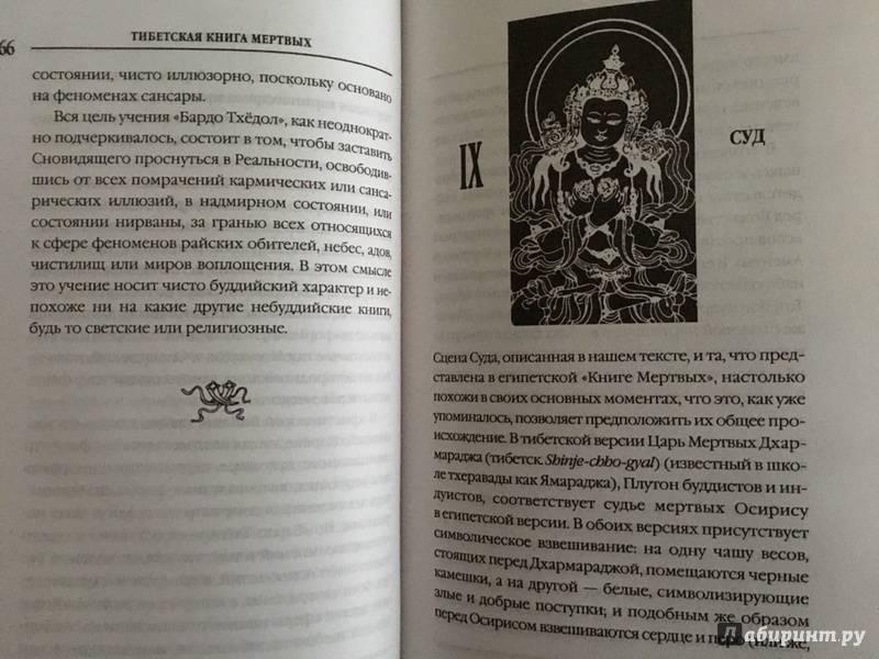 Тибетская книга мертвых – бардо тодол