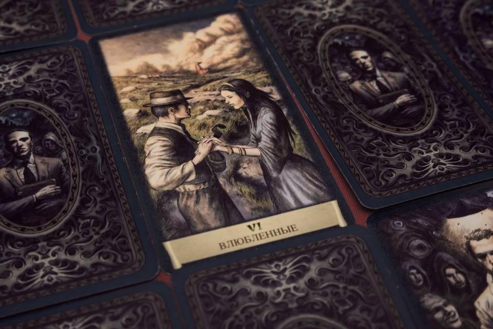 Влюблённые - расшифровка карт колоды чёрный гримуар для гаданий и раскладов