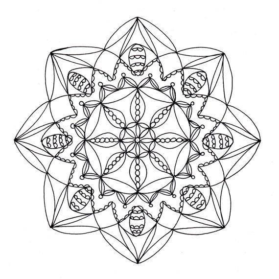 Мандала-лотос: в чем ее сила и как правильно ее использовать