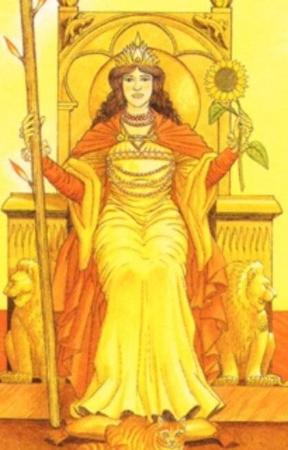 Королева жезлов — таро: значение и токование карты, описание, положение